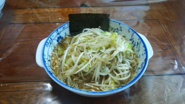 喜多方もやし醤油ラーメン(自宅麺)