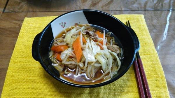 喜多方醤油らーめん(自宅麺)