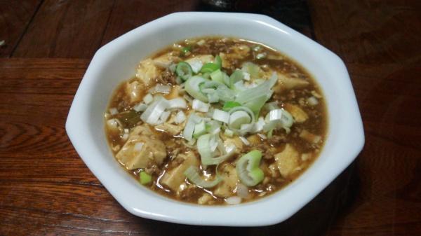 自分で作る自家製マーボ豆腐