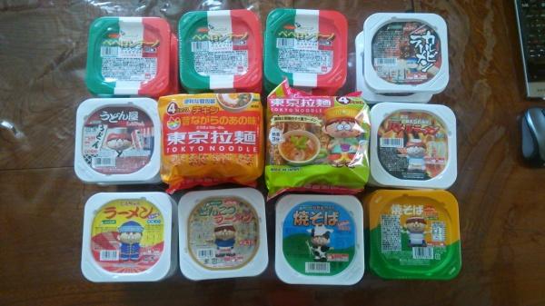 ラーメン好きのおやつ。東京拉麺シリーズ