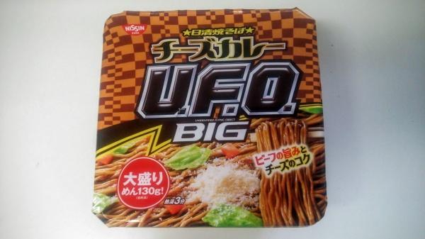 チーズカレーUFO(日清焼そば)