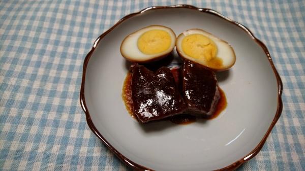 豚ロースの「煮豚」と「煮卵」