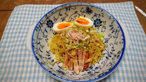 細めん油そば(高山麺業)