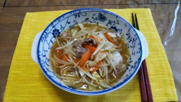 喜多方味噌らーめん(自宅麺)