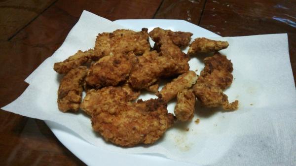 鶏むね肉のナゲット