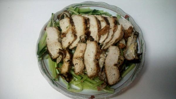 鶏のゆずコショウ焼き