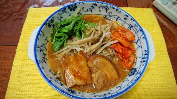 合わせ味噌ラーメン(自宅麺)